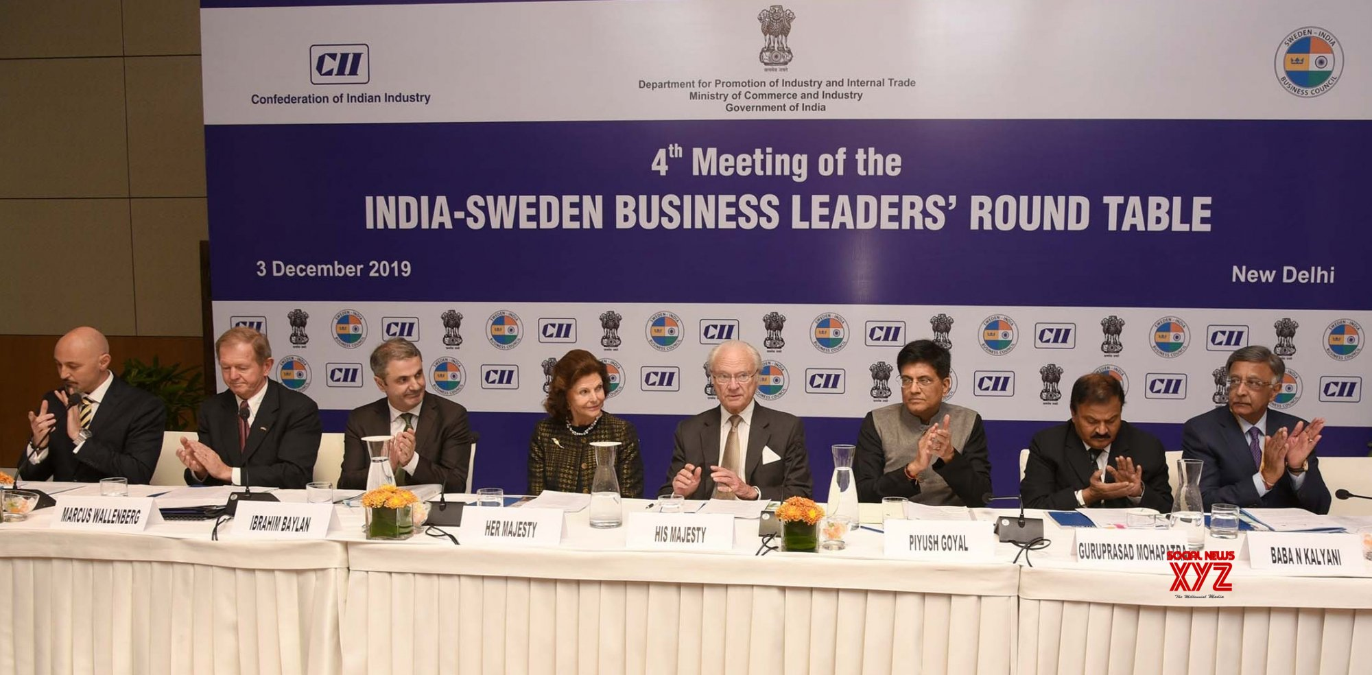 New Delhi: India - Sweden Business Leaders' Round Table meeting #Gallery