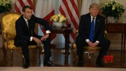Trump, Macron clash over Islamic State fighters (Video)
