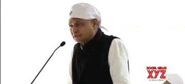 Jaipur: Rajasthan Chief Minister Ashok Gehlot addresses during the Shabad Kirtan programme organised at the Chief Minister's Residence in Jaipur on Dec 4, 2019. (Photo: IANS)