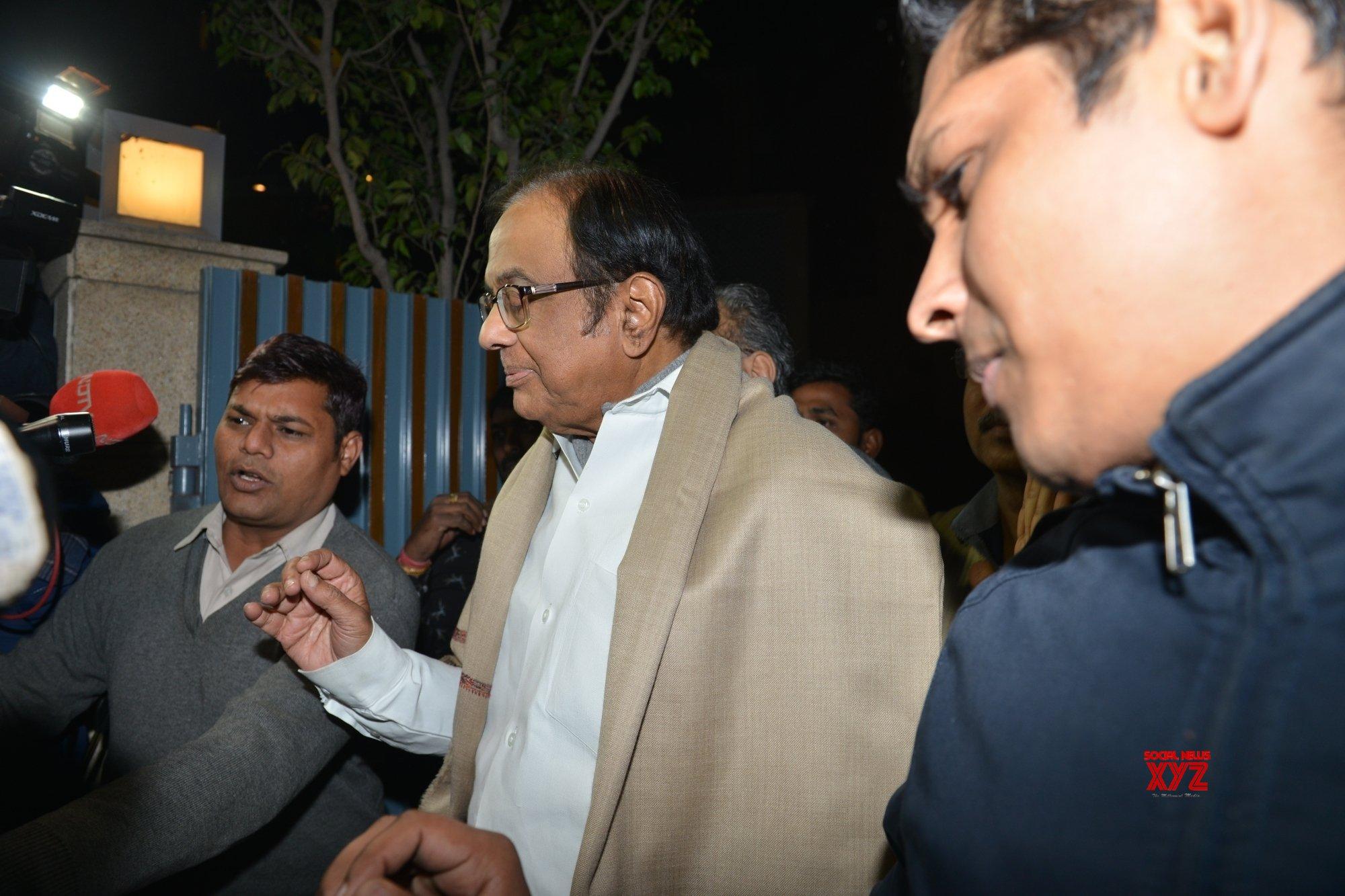 New Delhi: P Chidambaram walks out of Tihar jail #Gallery