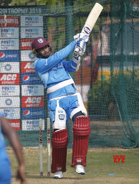 Hyderabad: West Indies - practice session - Denesh Ramdin #Gallery