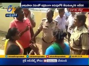 Two Women Arrested | After Raids on Natu Sara Center | in Chirala  (Video)