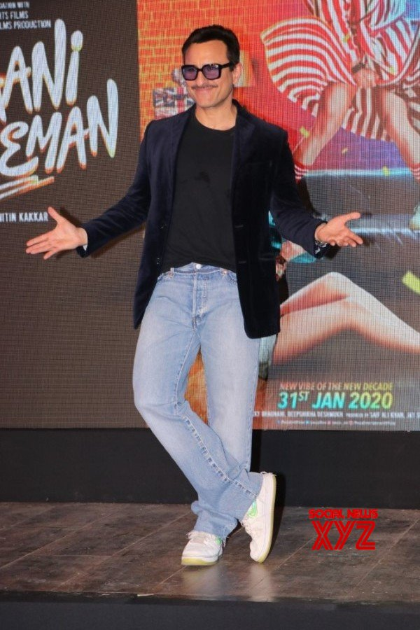 Saif Ali Khan And Alaia Furniturewalla At Jawaani Jaaneman Movie Ole Ole Song Launch Gallery Set 1