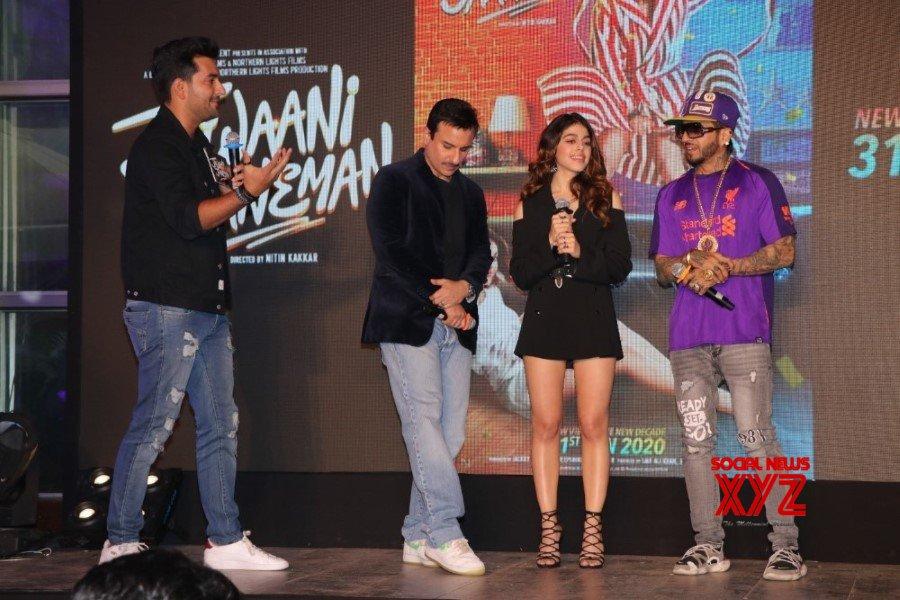 Saif Ali Khan And Alaia Furniturewalla At Jawaani Jaaneman Movie Ole Ole Song Launch Gallery Set 2