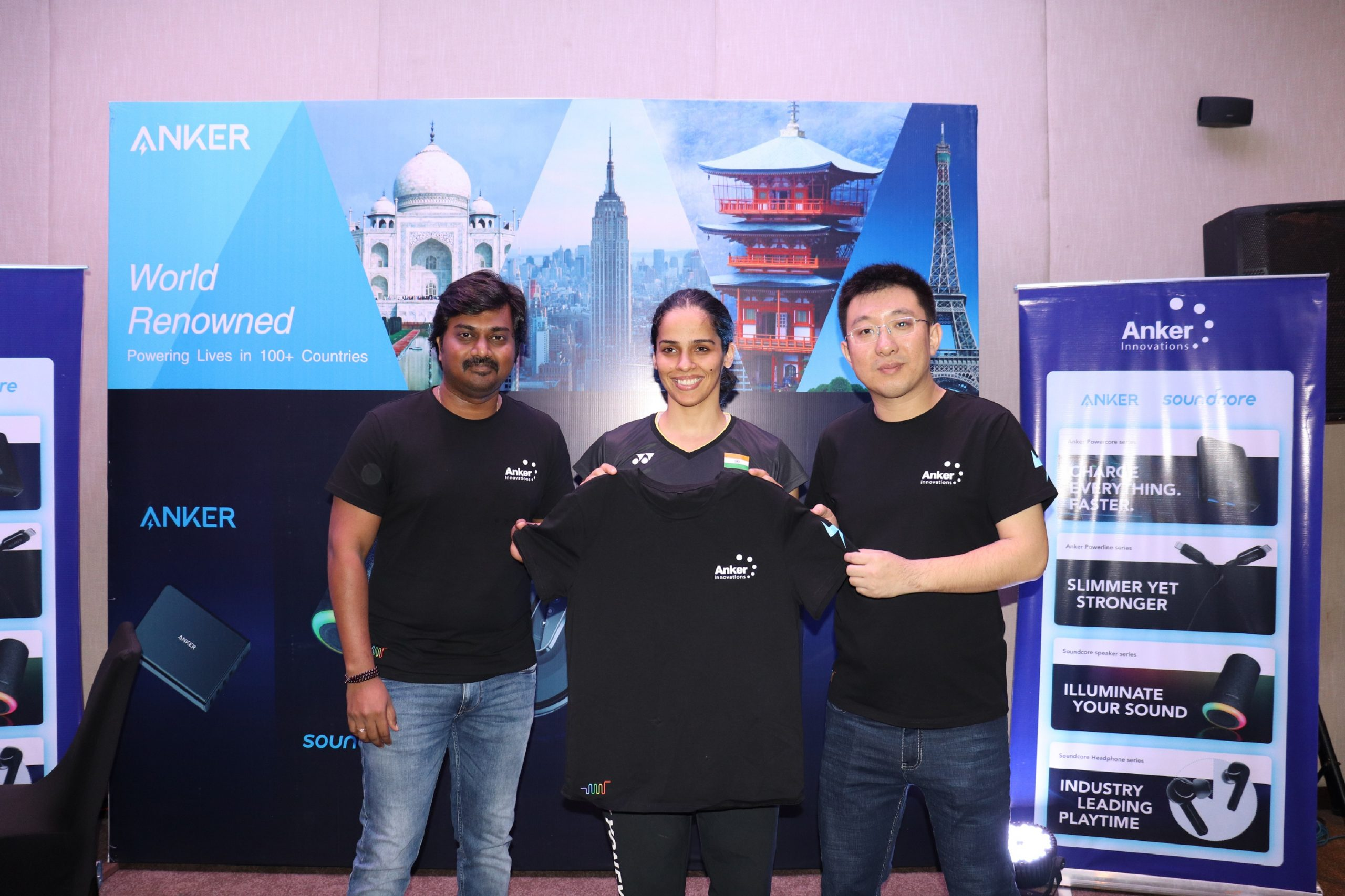 Anker Innovations signs Saina Nehwal as brand ambassador