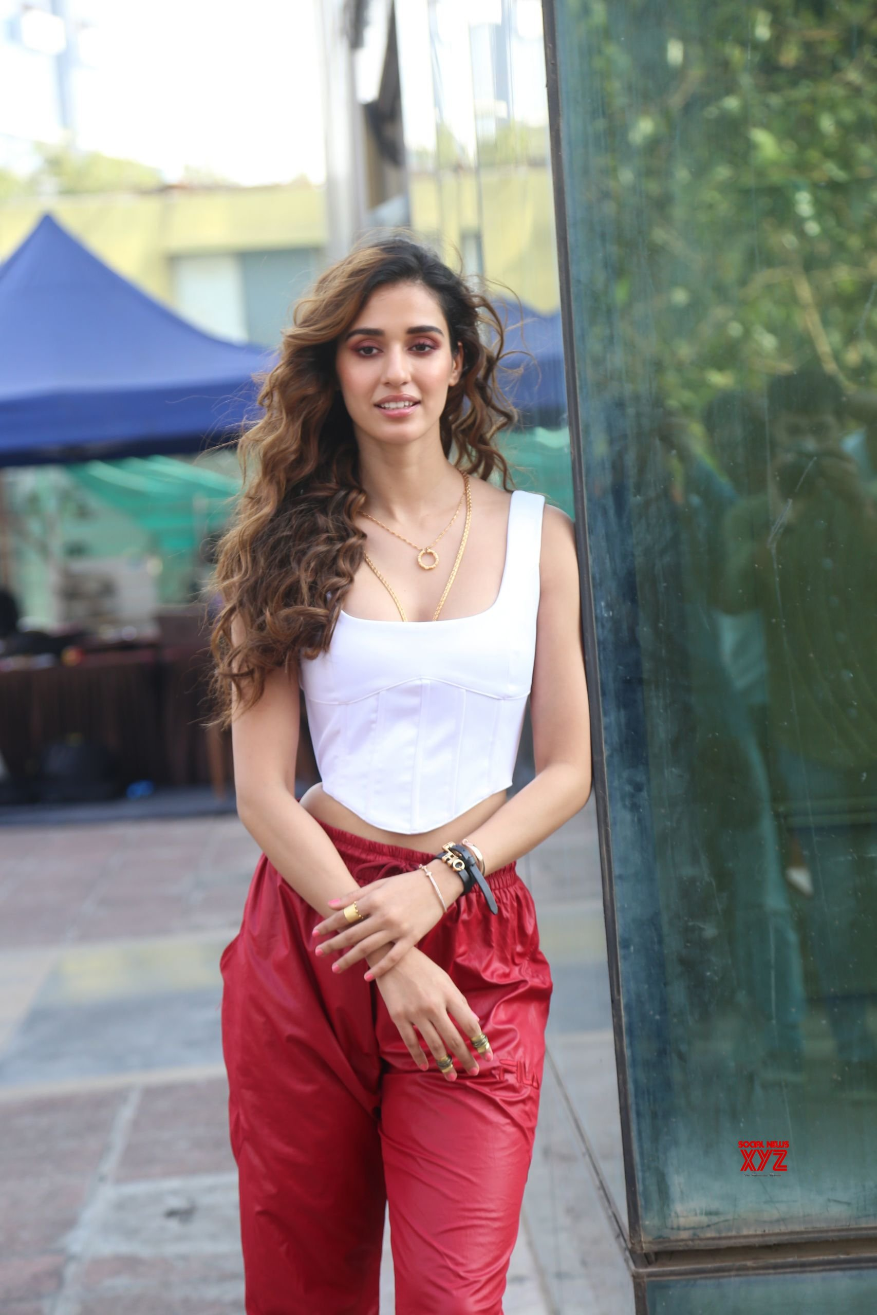 Disha Patani And Aditya Roy Kapoor At Luv Films Office In Andheri For The Promotions Of Film Malang HD Gallery