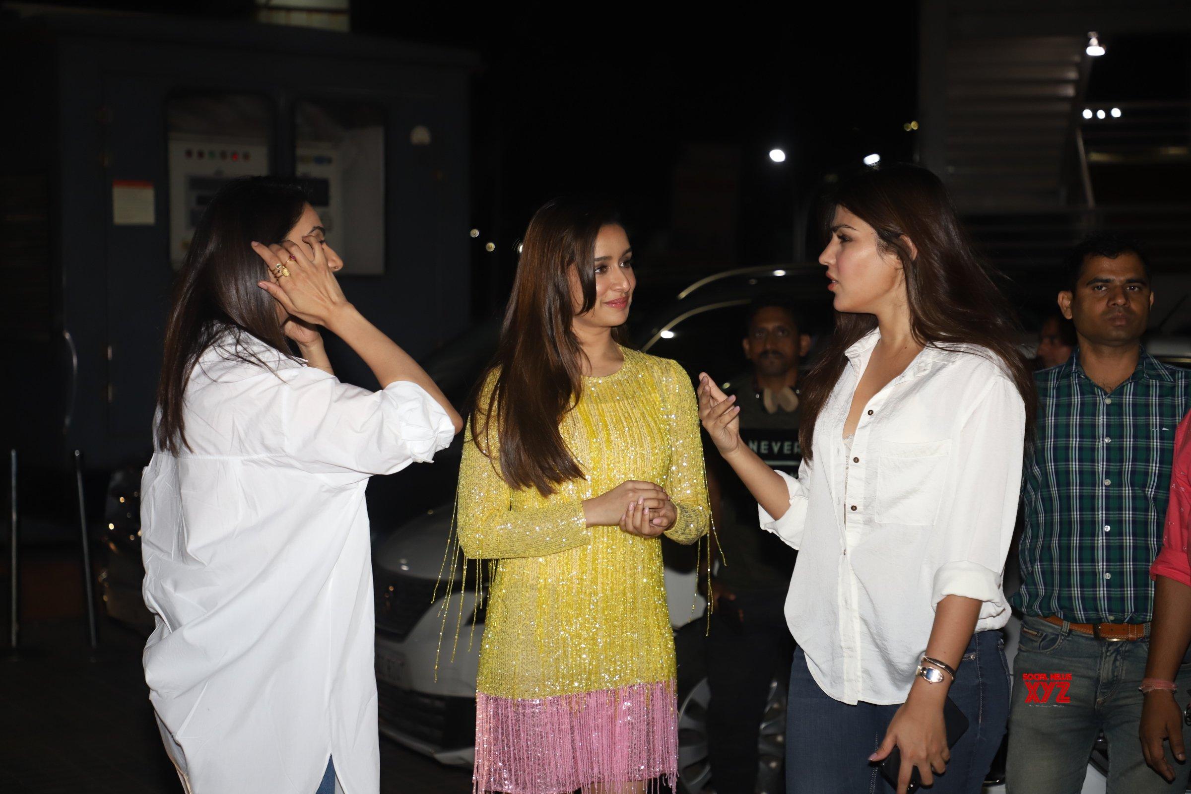 Varun Dhawan, Shraddha Kapoor, Rakul Preet Singh, Remo D'Souza And Others At Special Screening Of Street Dancer 3D - Gallery