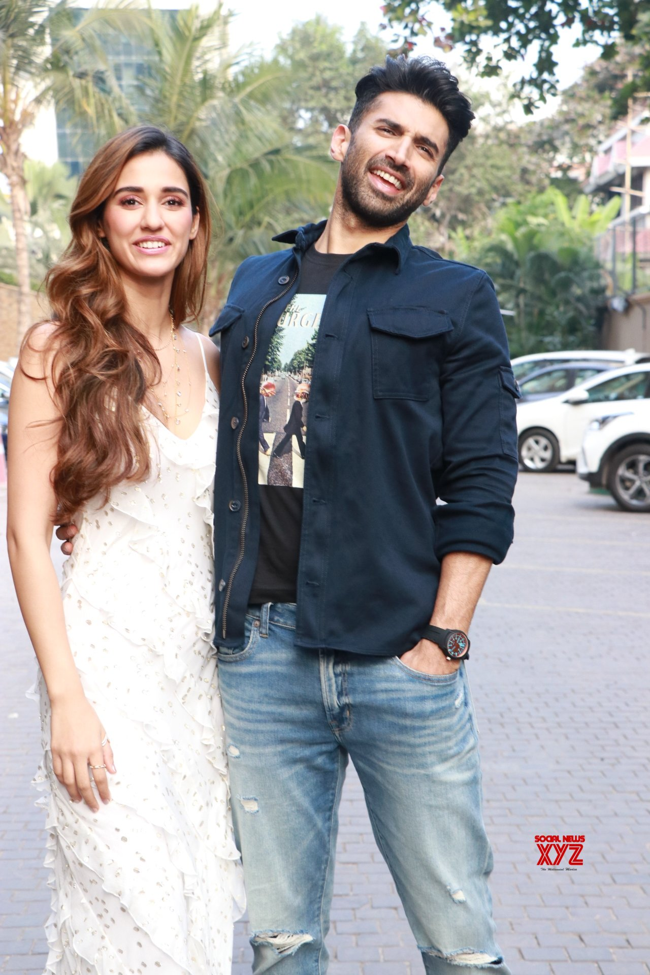 Malang Star Cast Aditya Roy Kapoor And Disha Patani Spotted Promoting Their Film Malang At Jw Marriott Gallery Social News Xyz