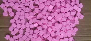 Bengaluru police on Thursday arrested a Tanzanian drug peddler with more than 600 ecstasy tablets. Weighing about 250 g, police said the pink and violet pepper mint looking ecstasy tablets were worth Rs 20 lakh on the street. (Photo: IANS)