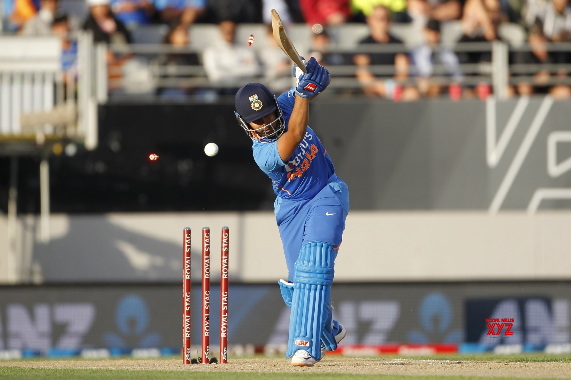 Auckland: 2nd ODI - India Vs New Zealand (Batch - 5) #Gallery