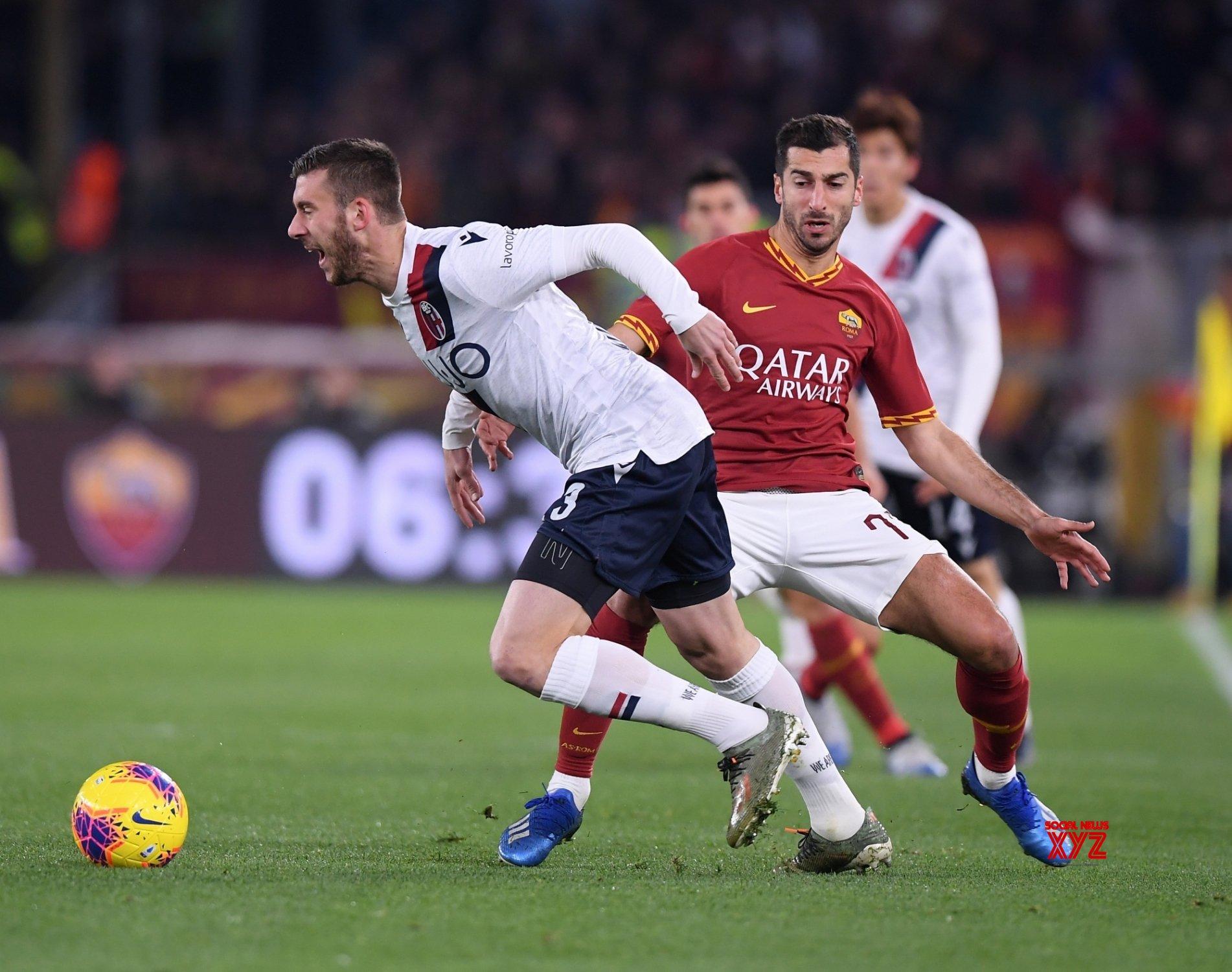 ITALY - ROME - FOOTBALL - SERIE A - ROMA VS BOLOGNA #Gallery