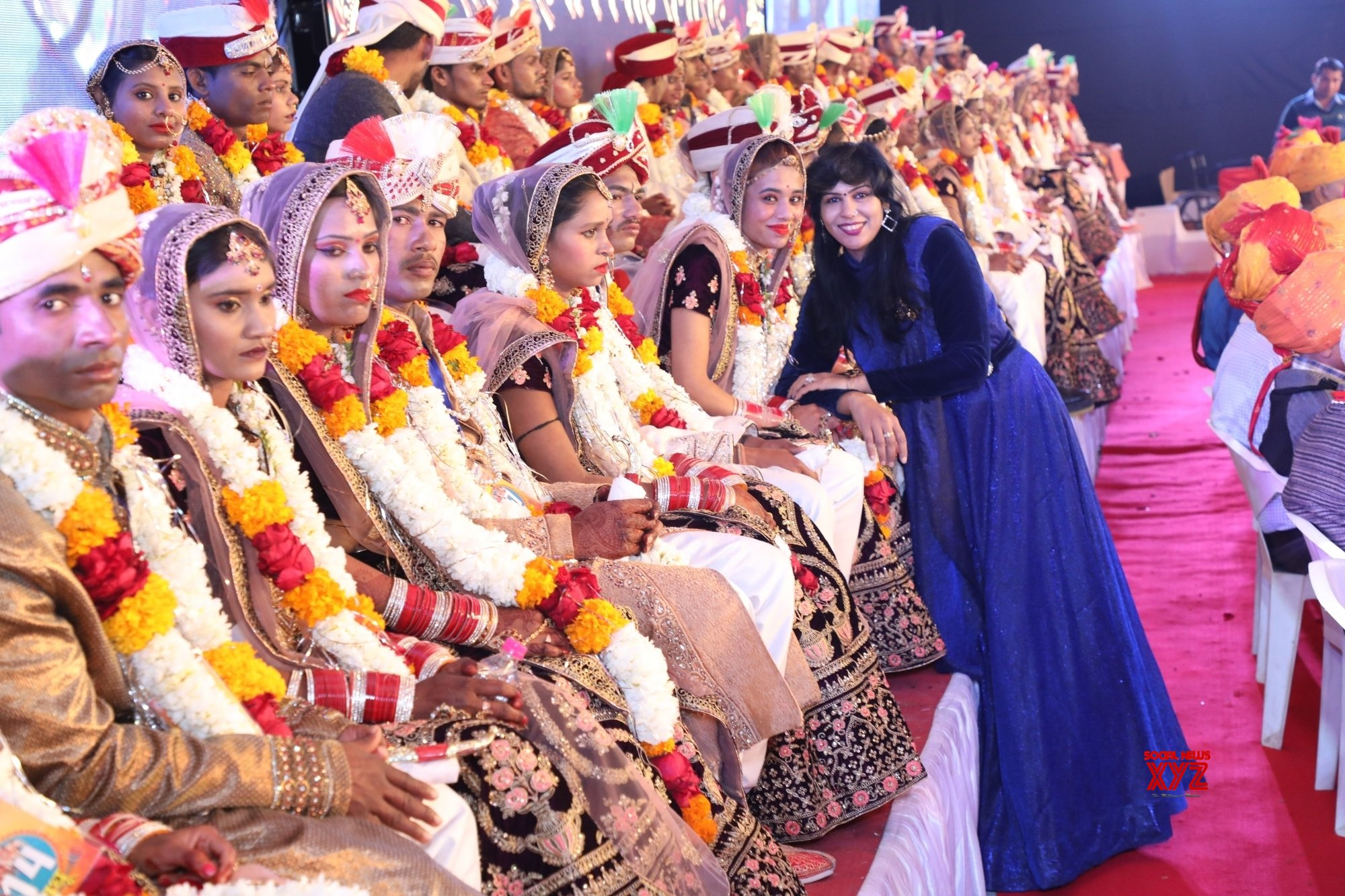 Jaipur: 47 differently - abled couples tie the knot at 34th Royal Mass Wedding Ceremony #Gallery