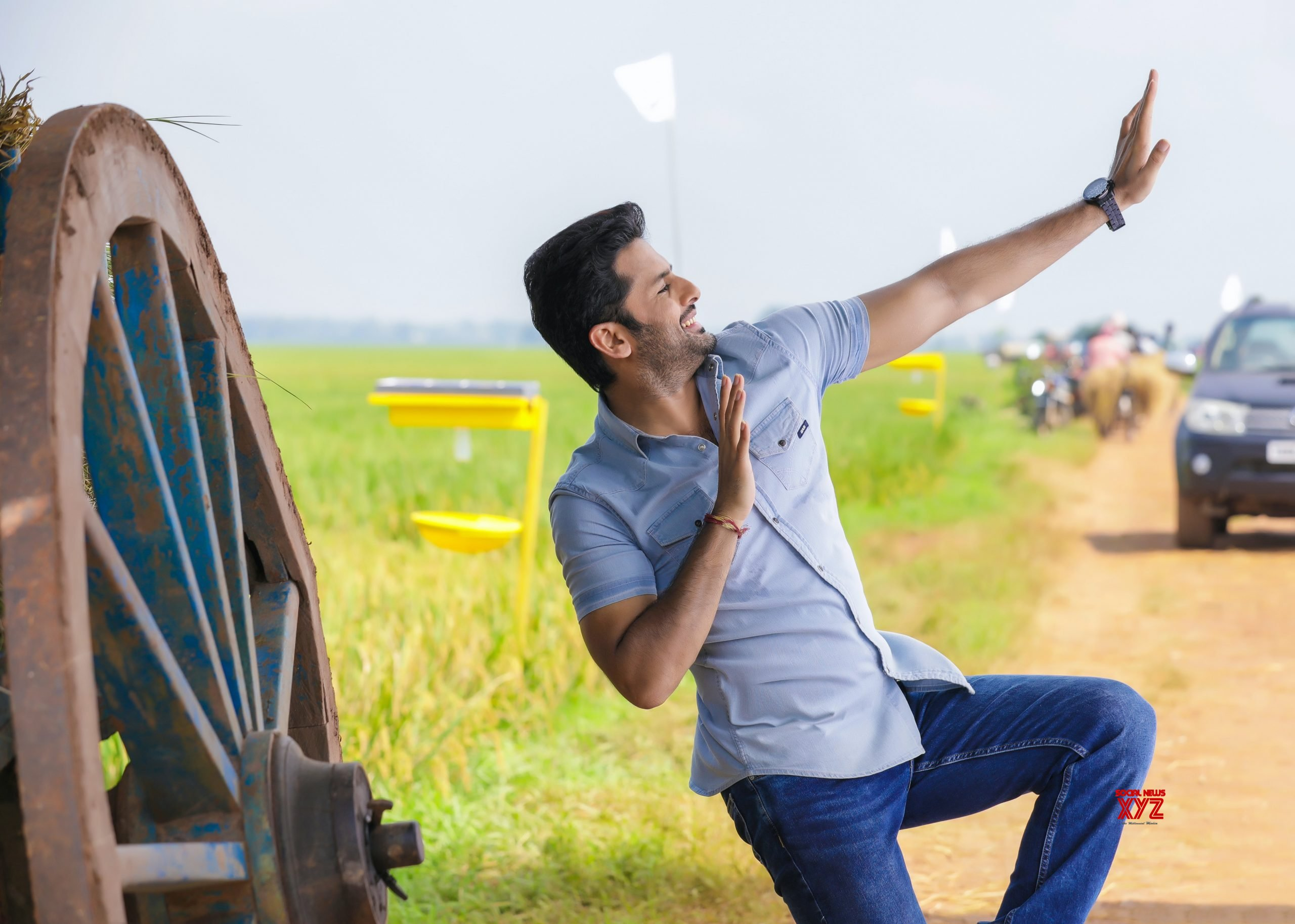 Sara Sari Lyrical Song From Bheeshma Movie Is Out Social News Xyz