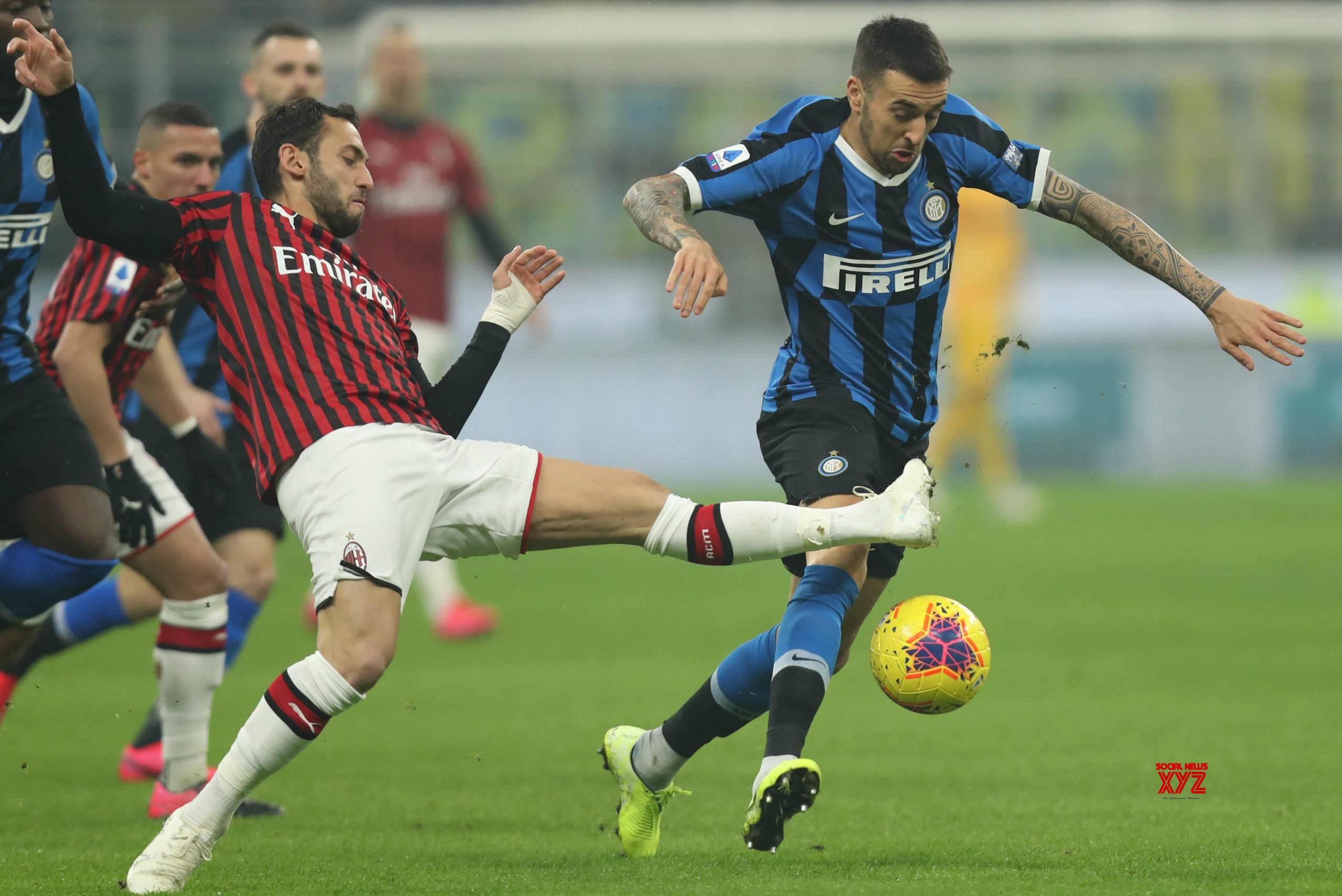 ITALY - MILAN - FOOTBALL - SERIE A - INTER VS MILAN #Gallery