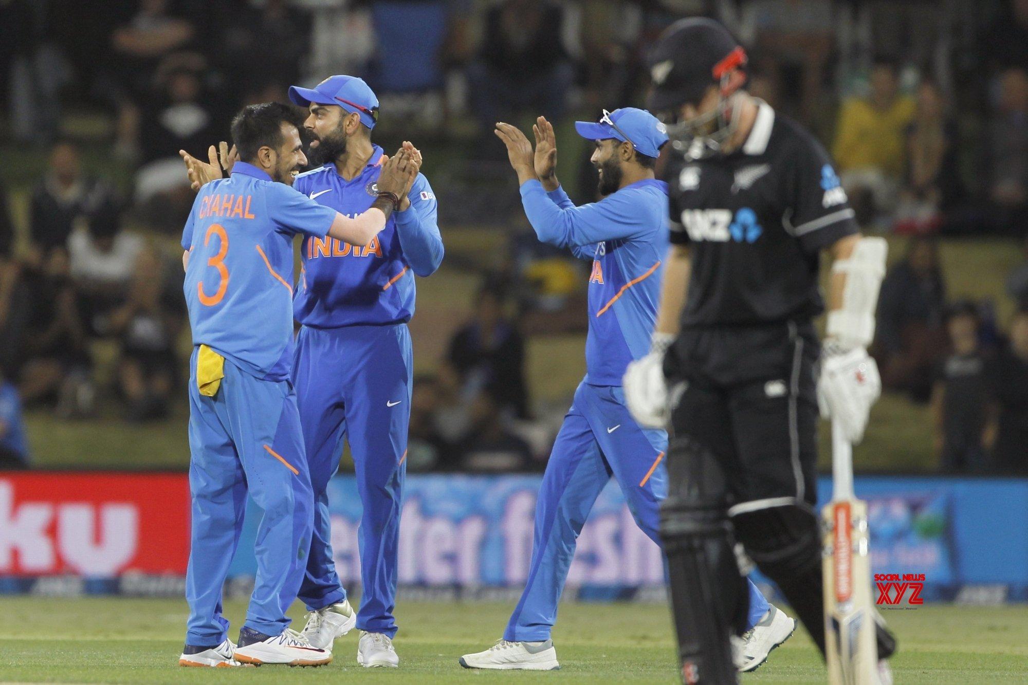 Mount Maunganui: 3rd ODI - India Vs New Zealand (Batch - 10) #Gallery