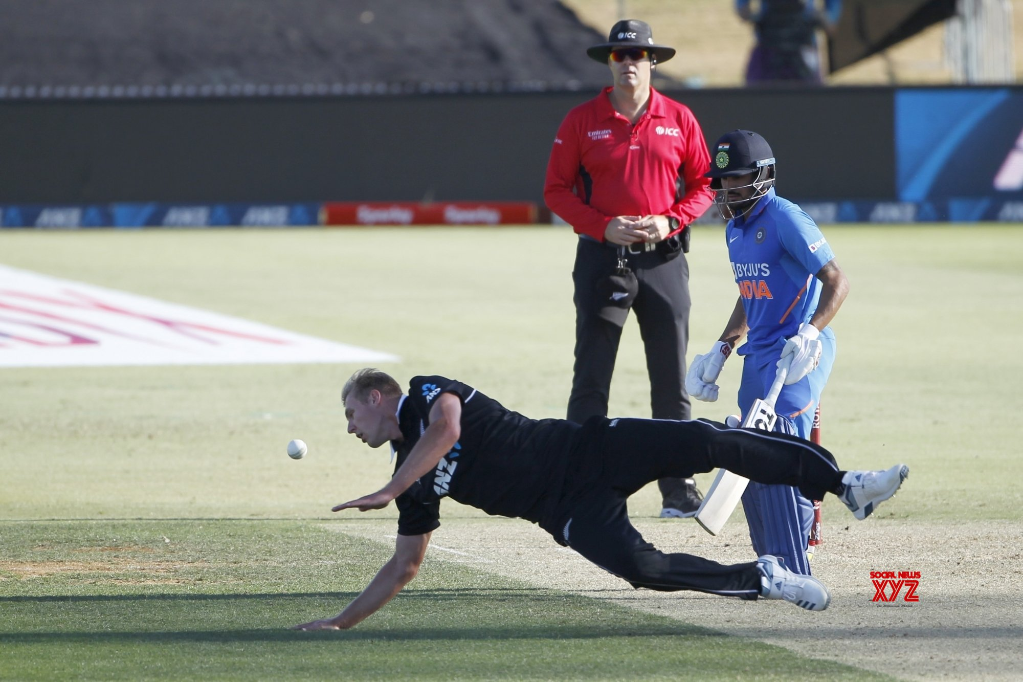 Mount Maunganui: 3rd ODI - India Vs New Zealand (Batch - 7) #Gallery