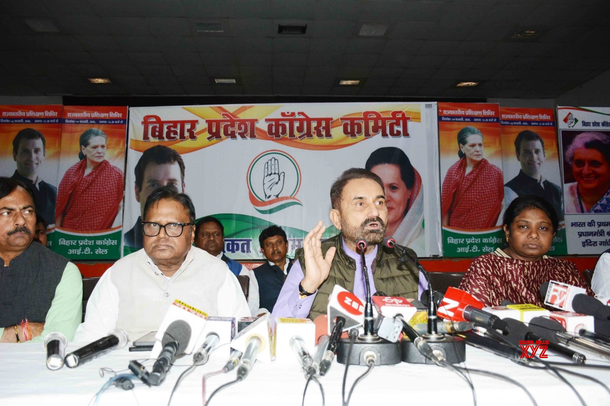 Patna: Shaktisinh Gohil's press conference #Gallery