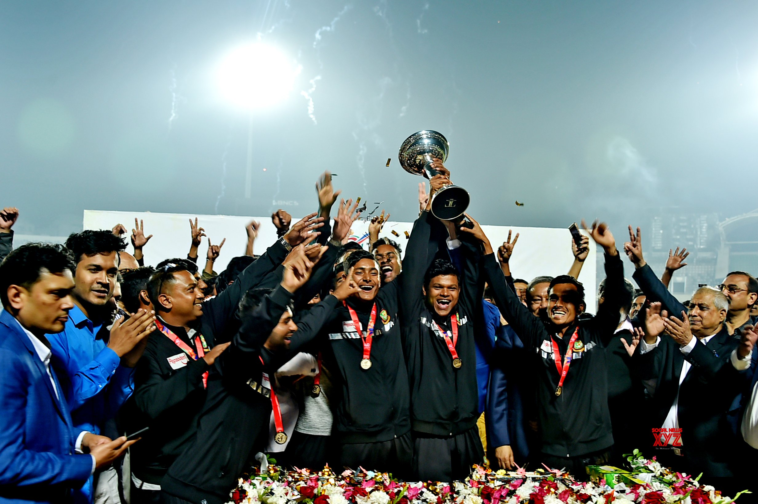 BANGLADESH - DHAKA - ICC U19 CRICKET WORLD CUP - WINNING SQUAD #Gallery