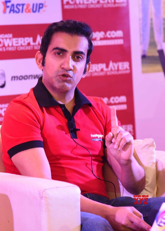 Patna: Gautam Gambhir addresses a press conference #Gallery
