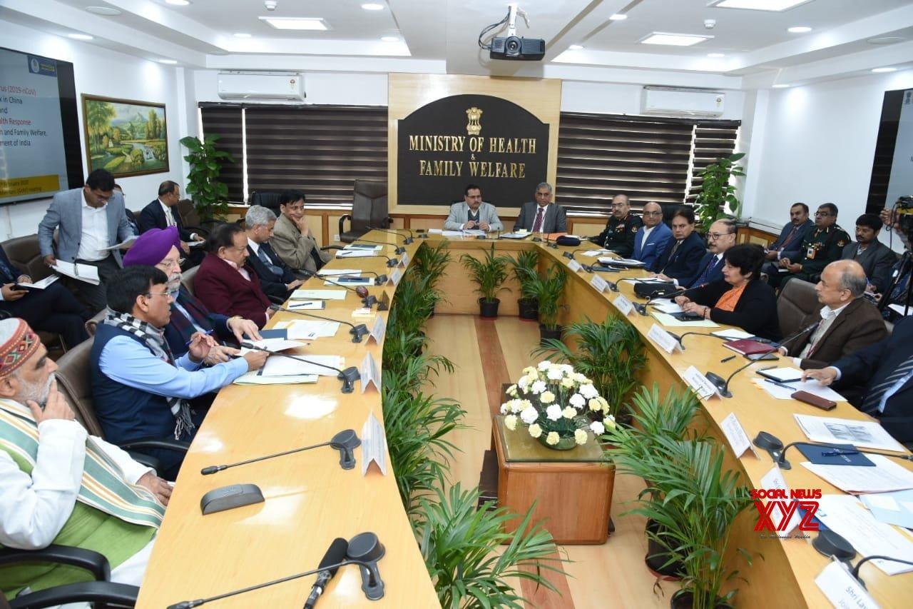 Ministers hold 2nd meet to review coronavirus preparedness