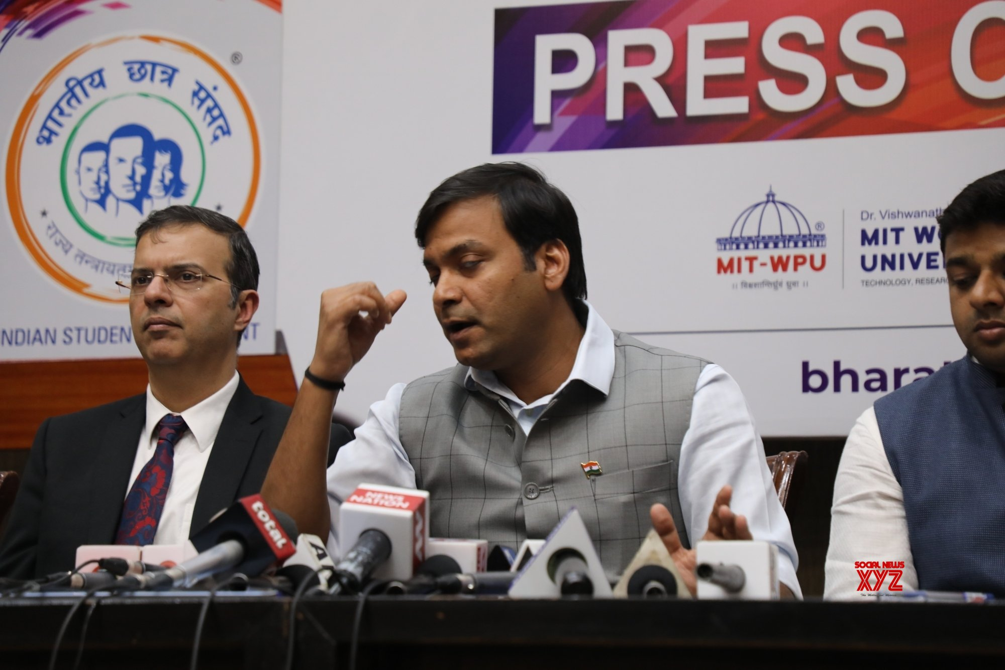 New Delhi: Rahul Karad's press conference #Gallery