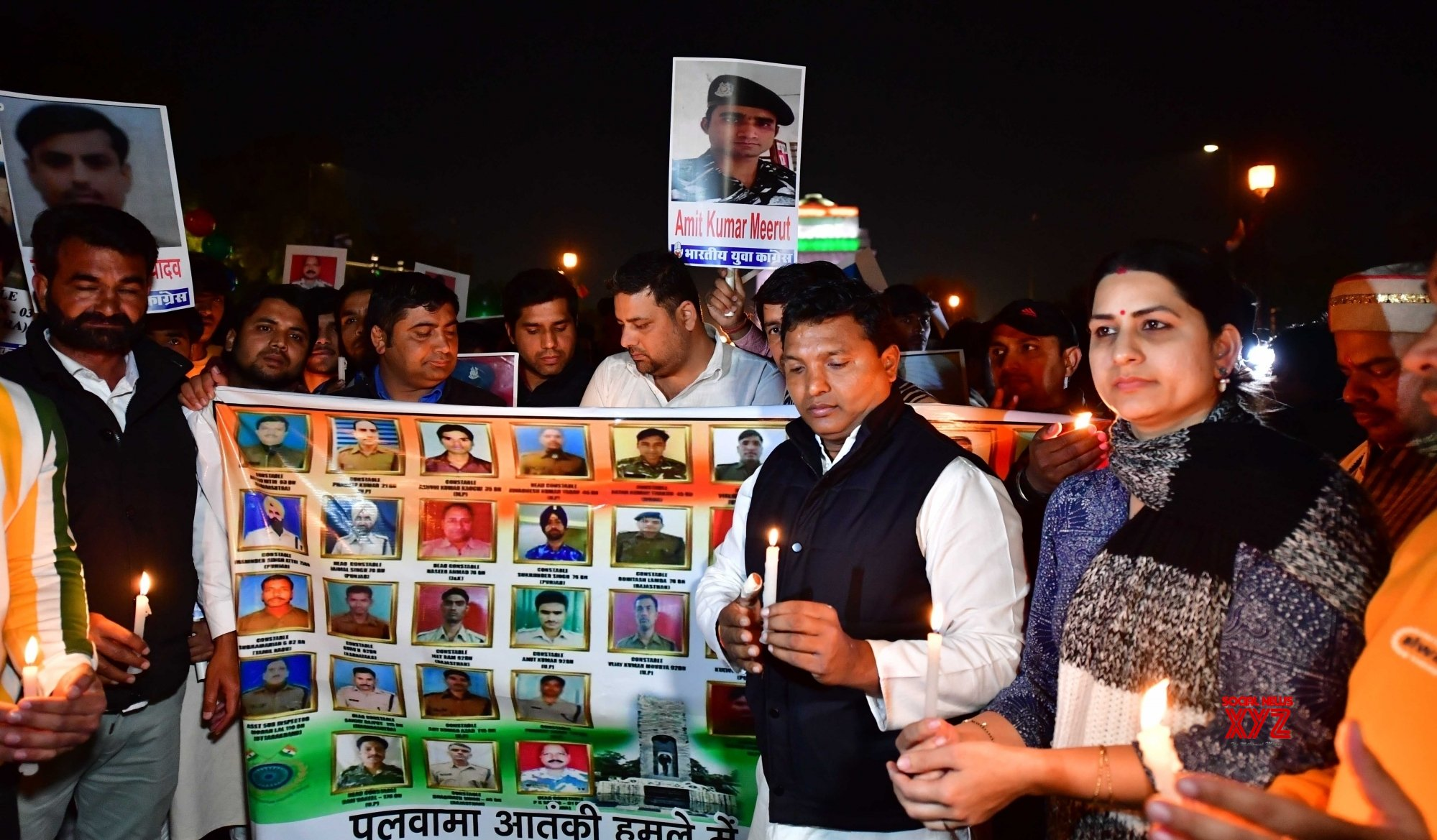 New Delhi: Congress activists pay homage to Pulwama martyrs (Batch - 2) #Gallery