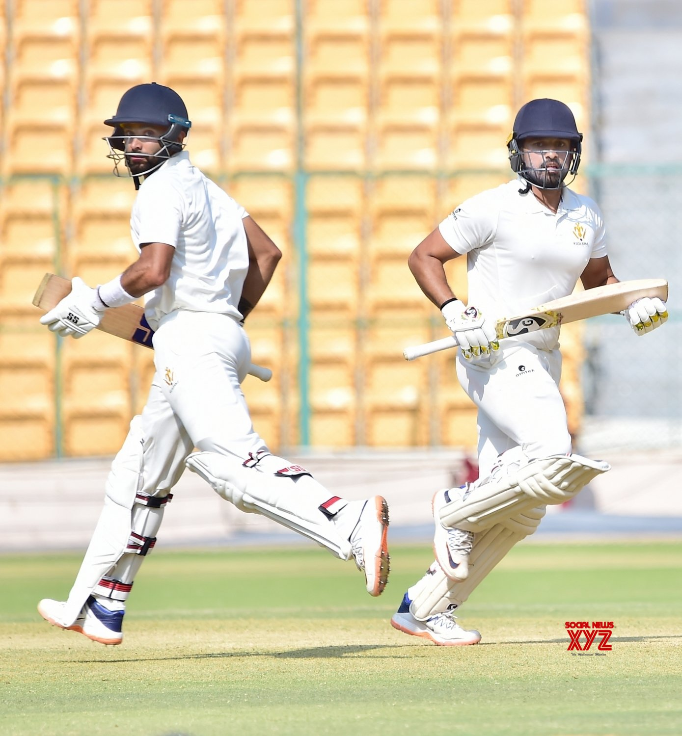 Bengaluru: Ranji Trophy - Elite Group B - Karnataka Vs Baroda #Gallery