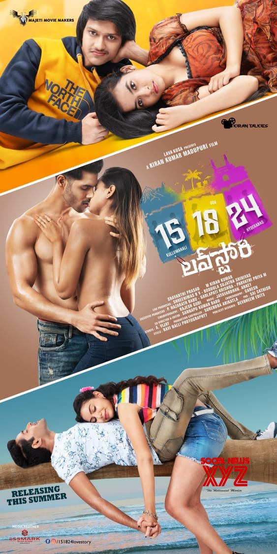 Mehreen Pirzada Launched 15-18-24 Love Story Movie First Look Poster