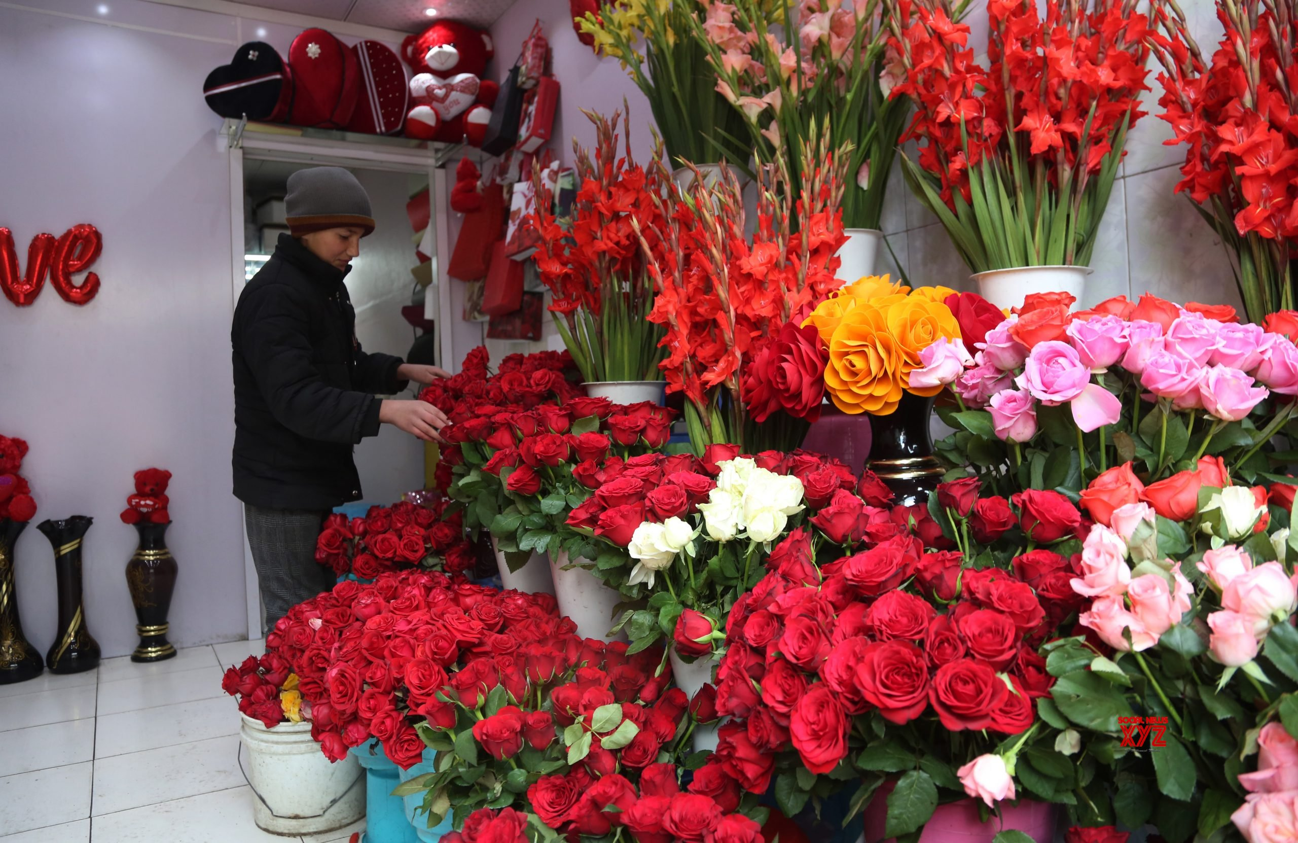 AFGHANISTAN - KABUL - VALENTINE'S DAY #Gallery
