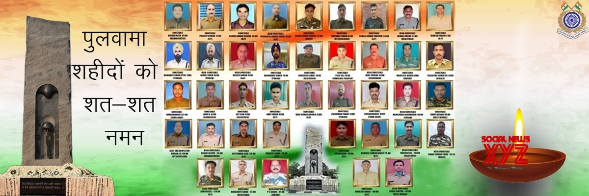 Twitterati pay stirring tributes to Pulwama martyrs