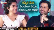Bheeshma Movie Valentines Day Special Interview (Video)