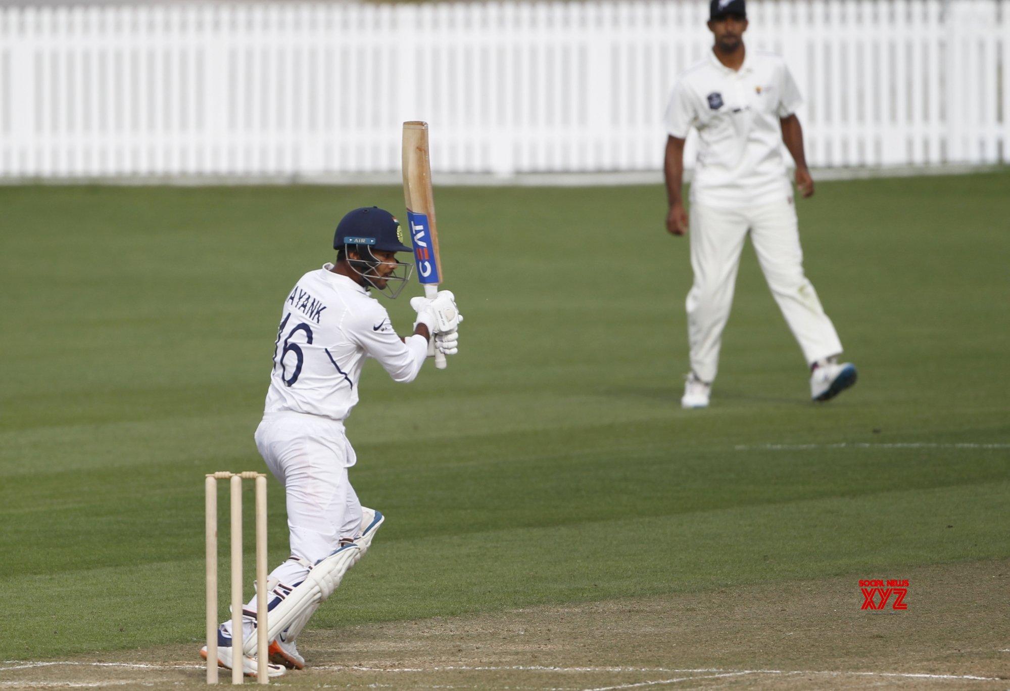 Hamilton: Practice match - Day 2 - India Vs New Zealand (Batch - 2) #Gallery