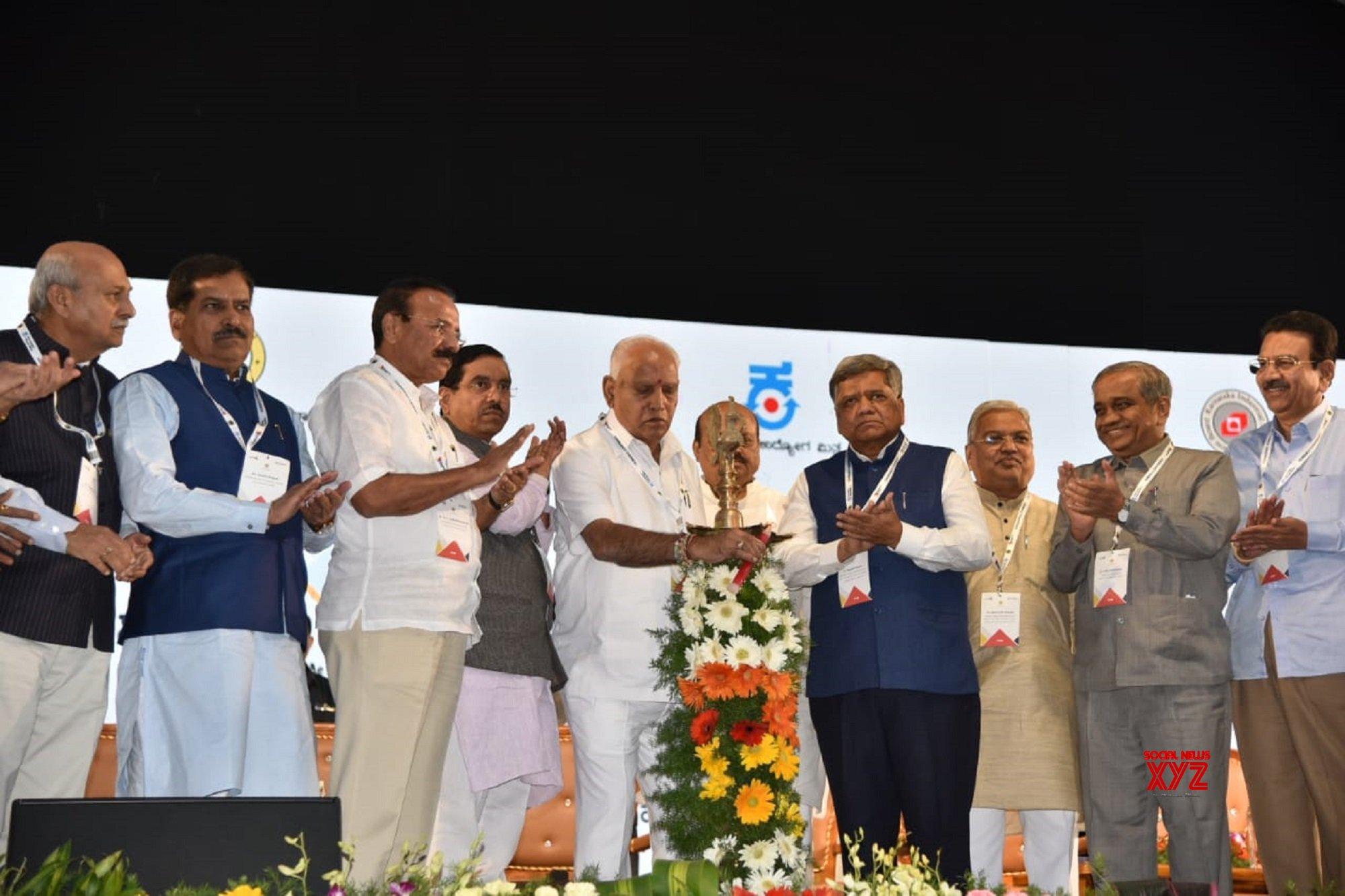 Hubli: Invest Karnataka 2020 meet - Yediyurappa #Gallery