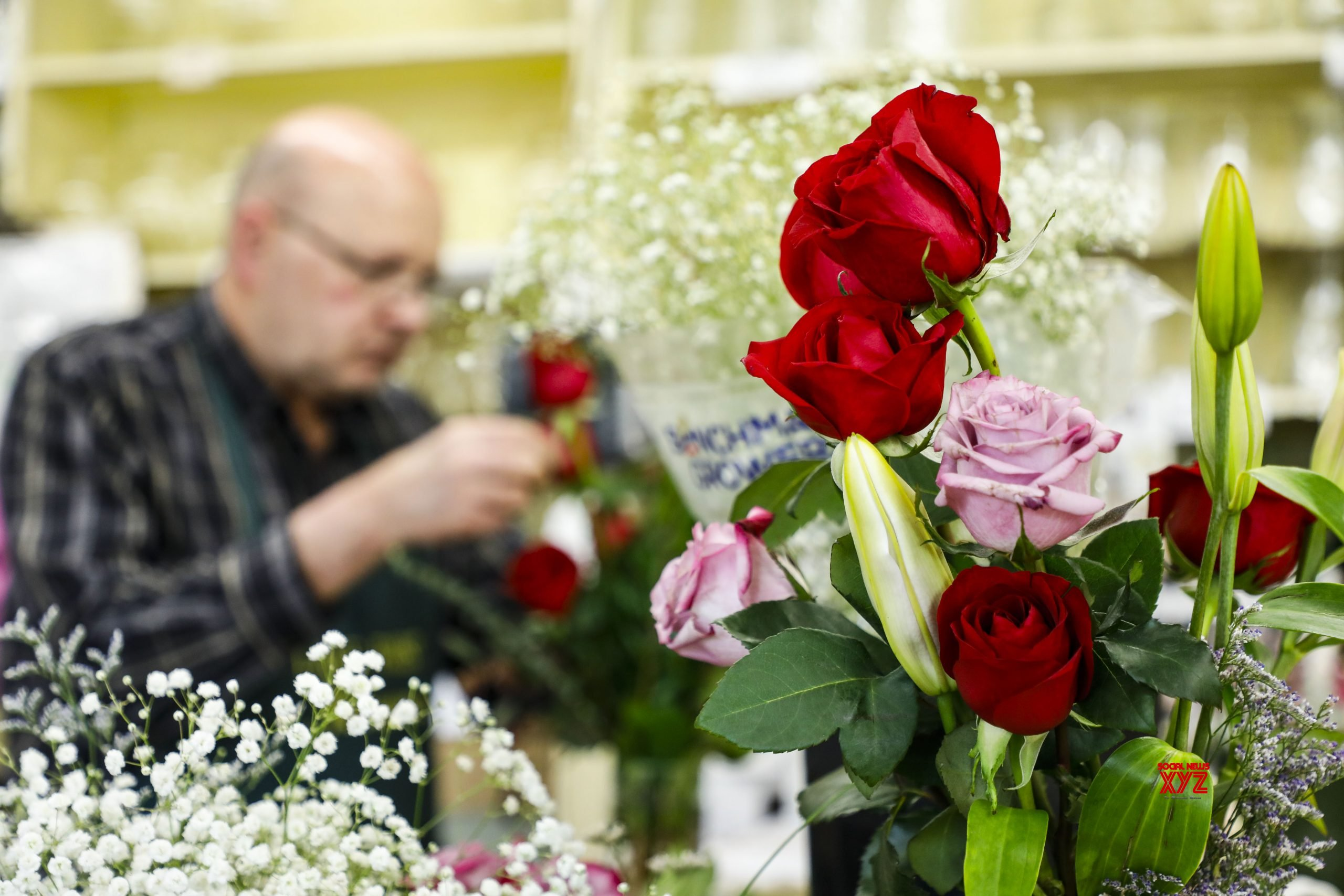 U.S. - ILLINOIS - LAKE FOREST FLOWERS - VALENTINE'S DAY #Gallery