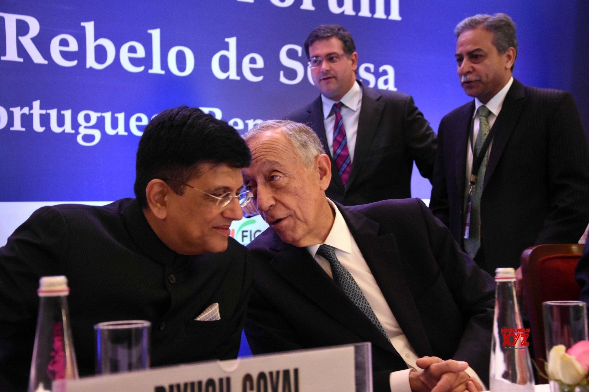 "Mumbai: ""India Portugal Business Forum"" - Portuguese President #Gallery"