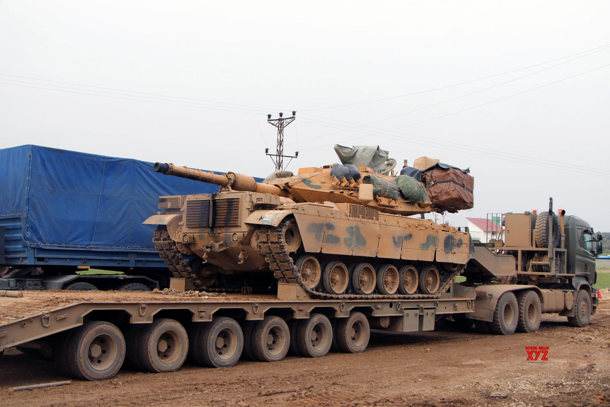 TURKEY - HATAY - SYRIAN BORDER - MILITARY PRESENCE - INCREASING #Gallery