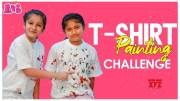 Aadya & Sitara T-Shirt Painting Challenge | Easy DIY Crafts | Aadya & Sitara [HD] (Video)