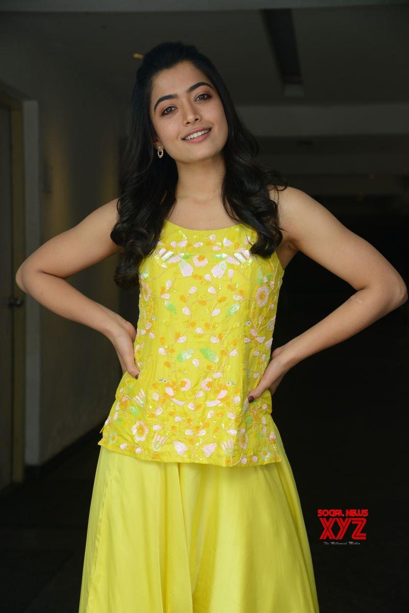 Actress Rashmika Mandanna Glam Stills From Bheeshma Movie Interview Social News Xyz