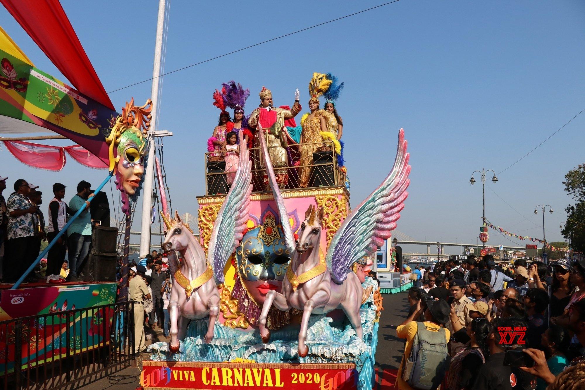 Panaji: Goa Carnival 2020 #Gallery