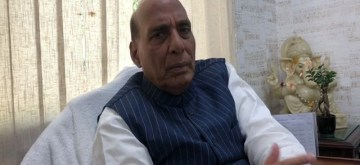 New Delhi: Defence Minister Rajnath Singh during an exclusive interview with IANS, in New Delhi on Feb 22, 2020. (Photo: IANS)