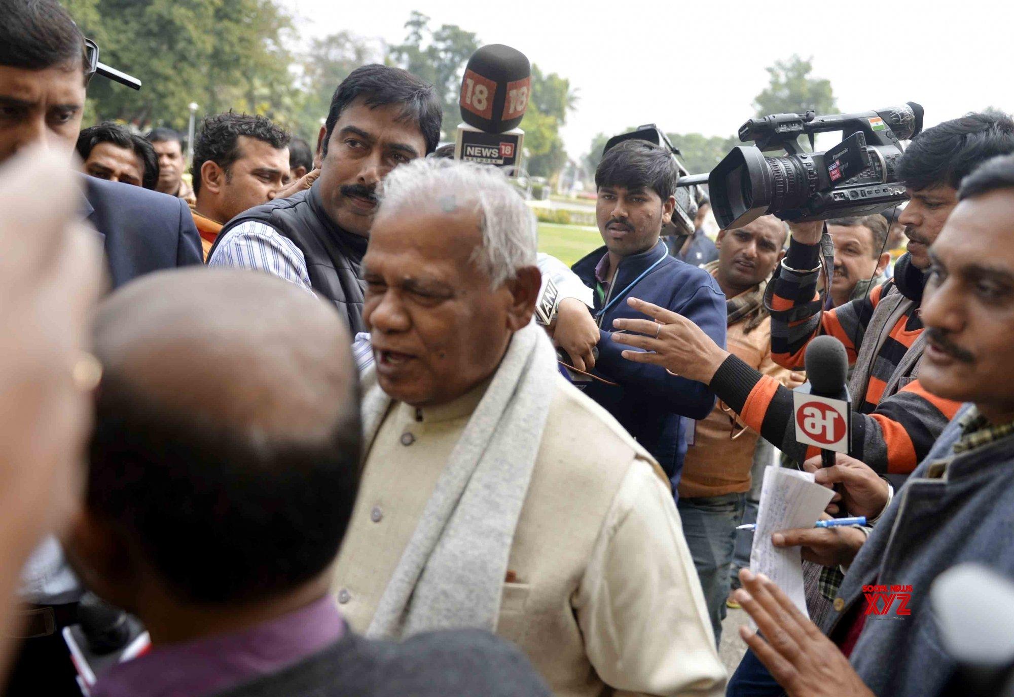 Patna: Bihar Assembly Budget Session - Jitan Ram Manjhi #Gallery