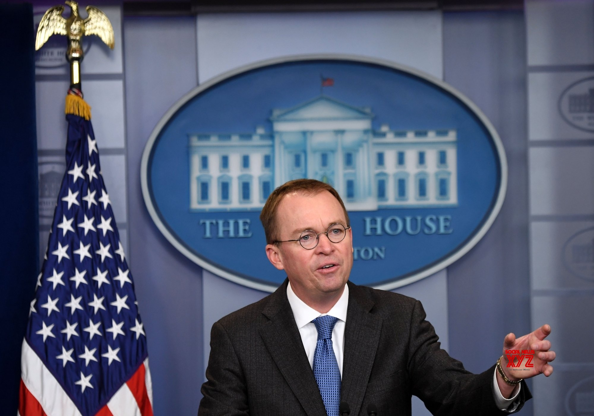 Mick Mulvaney blames media for 'huge panic' over COVID-19