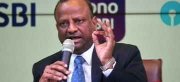 Mumbai: SBI Chairman Rajnish Kumar addresses a press conference regarding on YES Bank issue at SBI Head office in Mumbai, on March 7, 2020. (Photo: IANS)