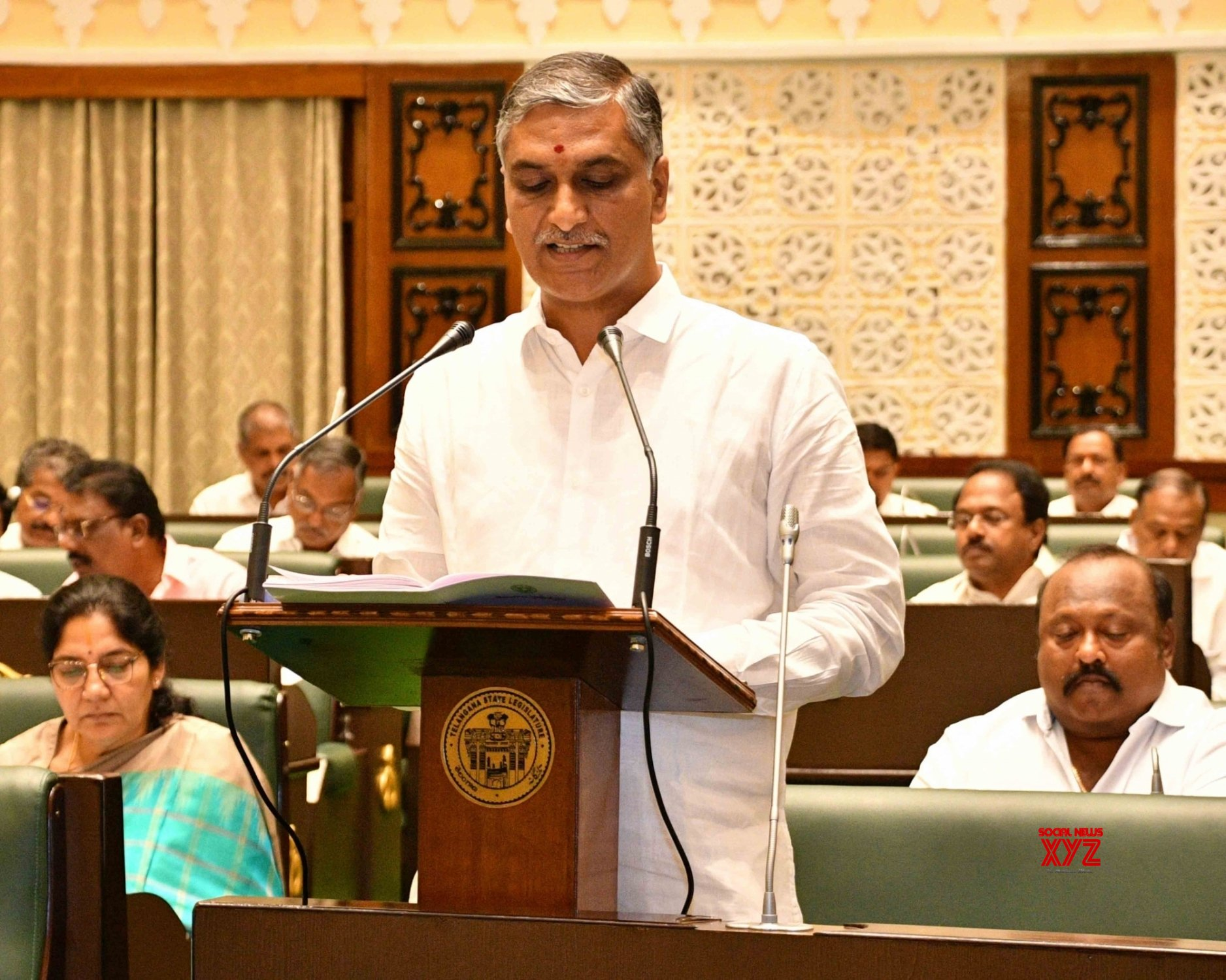 Harish Rao Presents Telangana Budget In Assembly