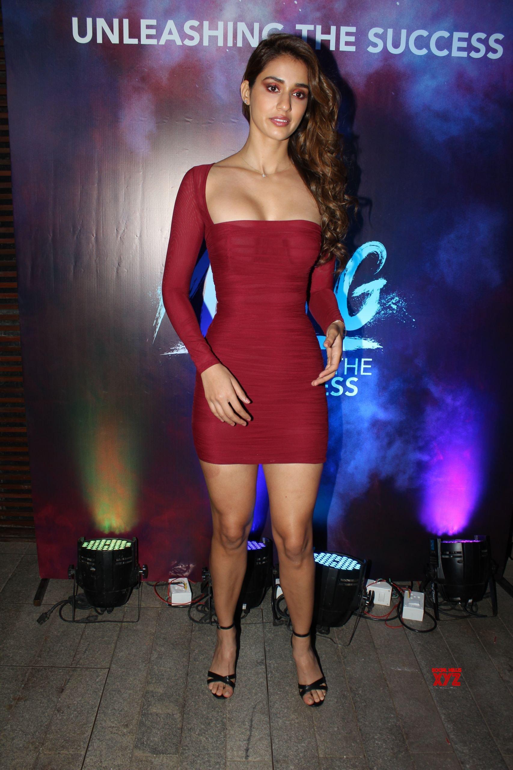 Actress Disha Patani Hot Stills From Malang Malang Success Party At Juhu Social News Xyz