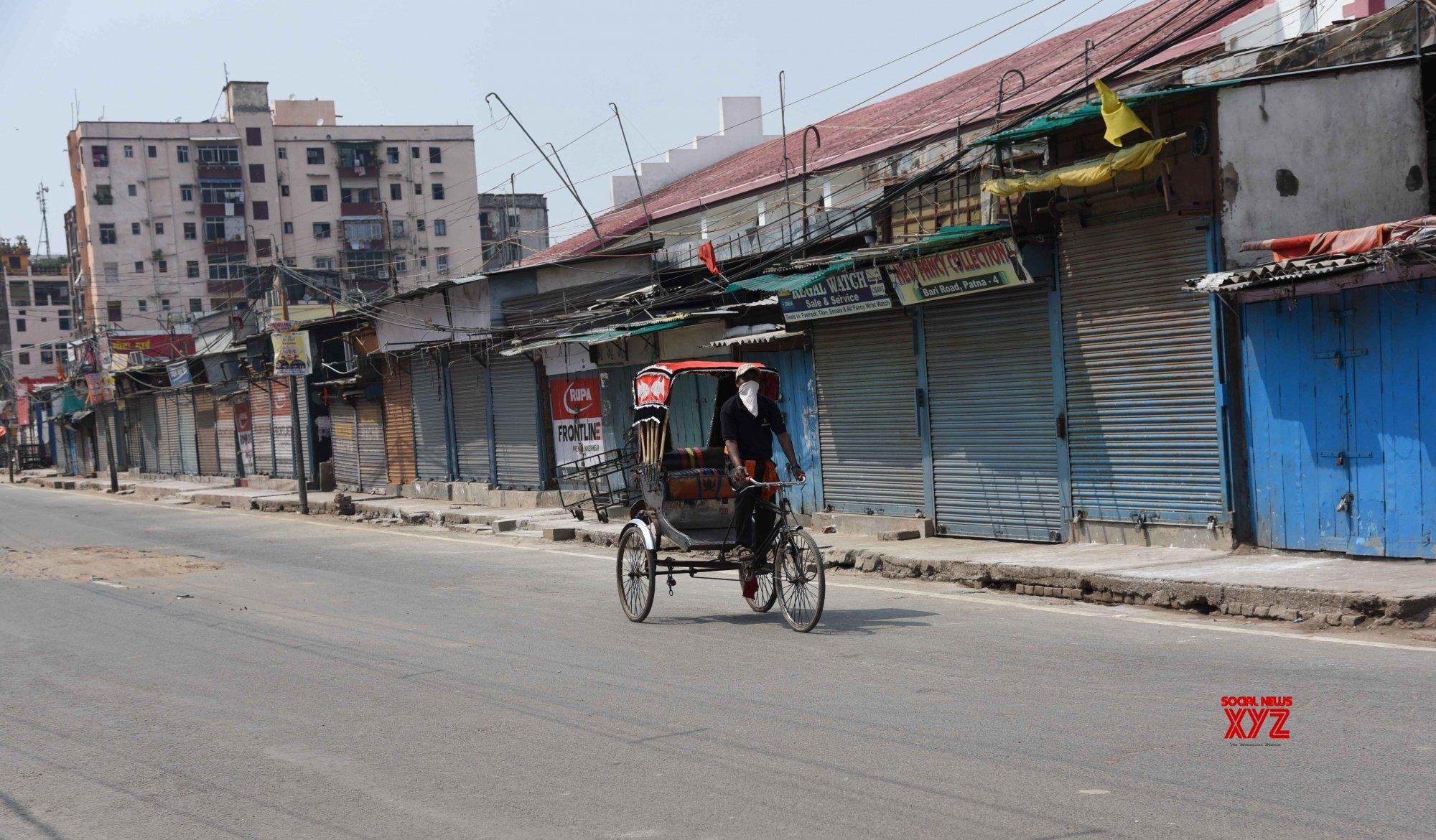 Patna: City observes 21 - day lockdown amd COVID - 19 pandemic #Gallery