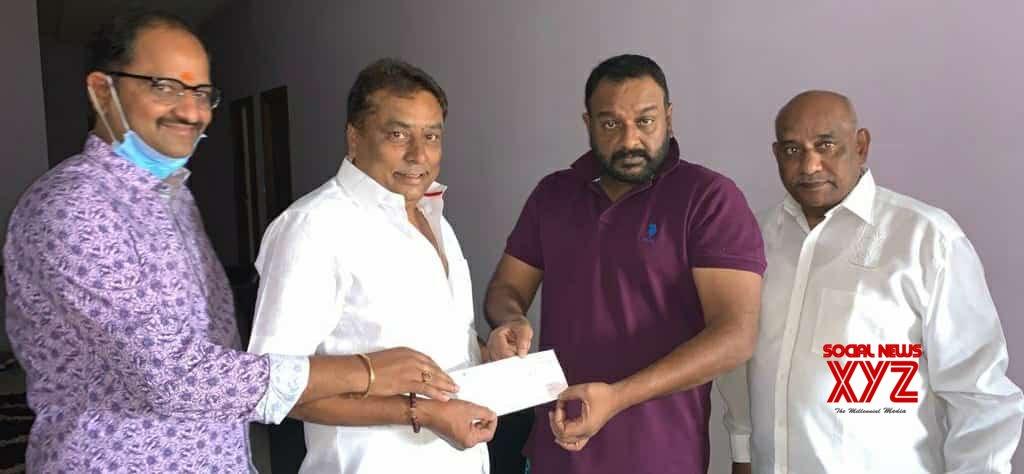 VV Vinayak Donates 5 Lakhs To Kadambari Kiran's Mana Saitham Foundation To Help Poor Cine Workers