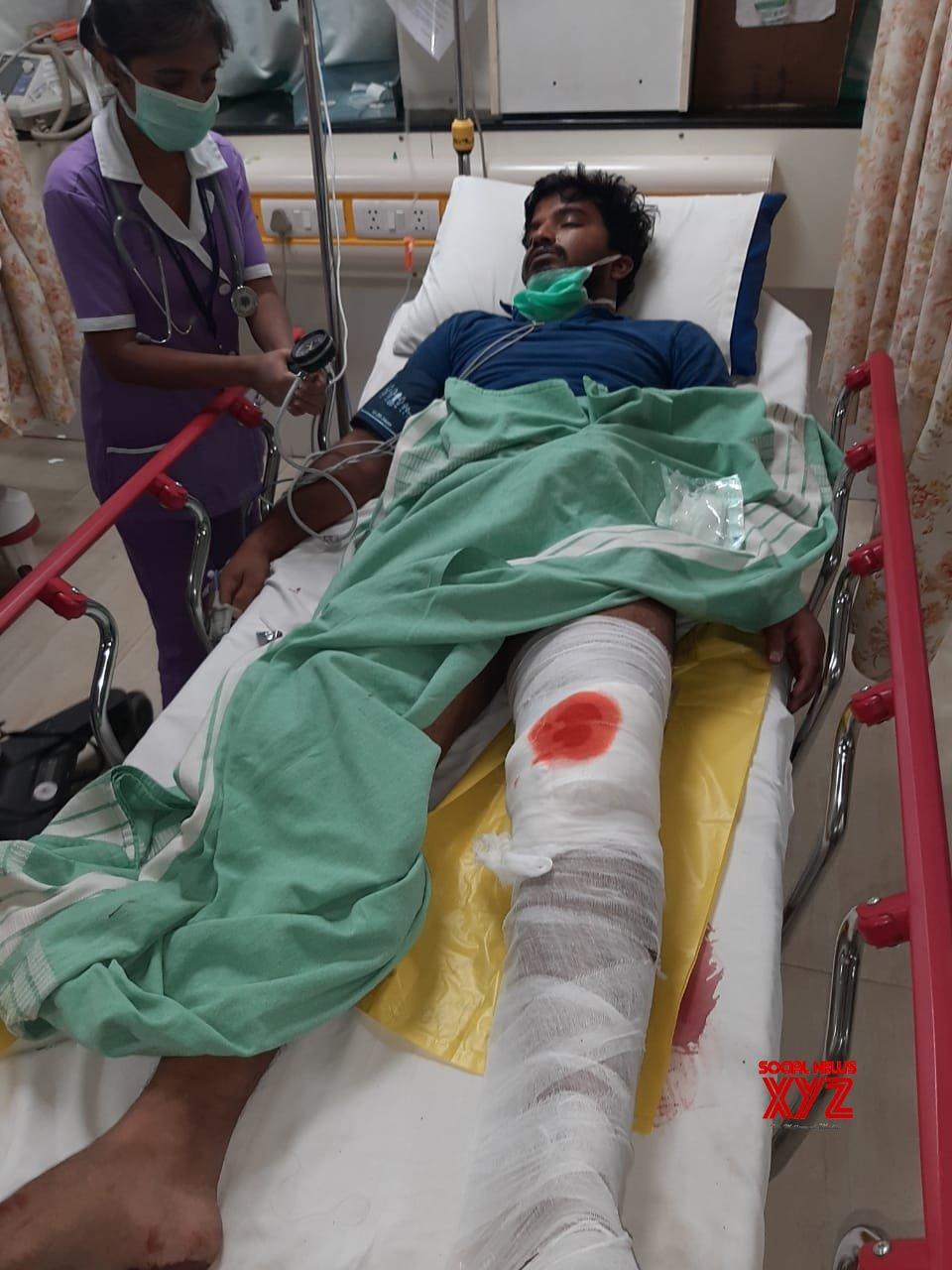Bengaluru: B'luru police shoot man on leg for escape attempt #Gallery