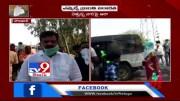 Andole MLA Kranthi Kiran arranges transportation to migrant workers - TV9 (Video)