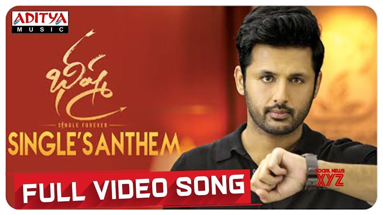 Singlesanthem Full Video Song Bheeshma Video Songs Nithiin Rashmika Mahati Swara Sagar Hd Video Social News Xyz